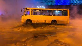 В Киеве затопило кипятком торговый центр Ocean Plaza
