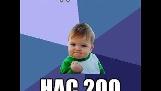 ШОК! Вау 200 подписонов!!!!!!! УxУ! XD