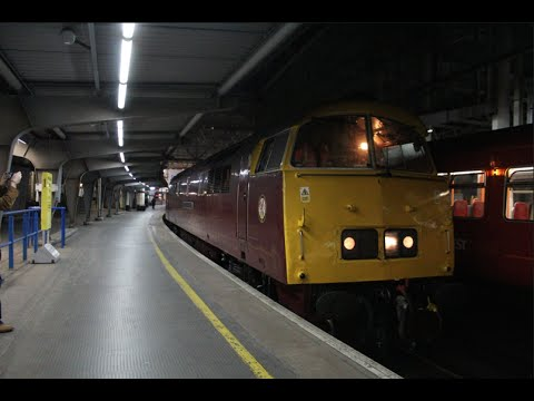 Diesel Hydraulic D1015 'Western Champion' at London Waterloo…