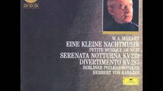 Mozart - Serenata notturna in D major, K. 239