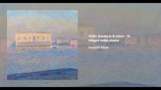 Violin Sonata in B minor