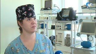Лучшей медсестрой региона признана медсестра-анастезист областной больницы Ольга Петрова