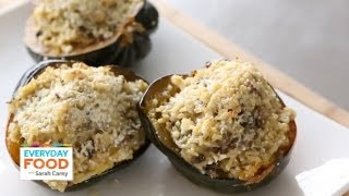 Acorn Squash Stuffed with Mushrooms and Rice | Everyday Food with Sarah Carey