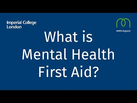 What is Mental Health First Aid? | Imperial News | Imperial