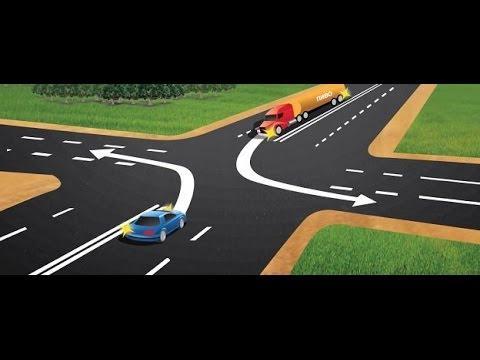 Левый поворот. Как правильно выполнять левый поворот?