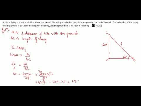 Trigonometry Part 34 Solutions for Class 10 CBSE