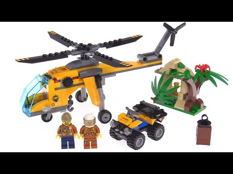 LEGO City Jungle Cargo Helicopter review 🚁 60158