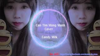 Con Tim Mong Manh Cover - Candy Milk