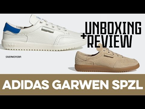 UNBOXING+REVIEW - adidas X Union Garwen Spzl