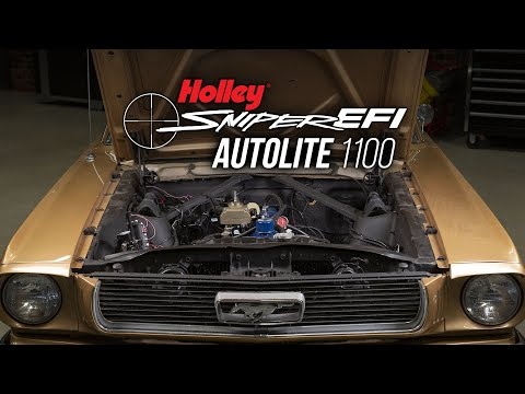 How to Replace your Mustang Autolite 1100 Carb with Holley Sniper EFI