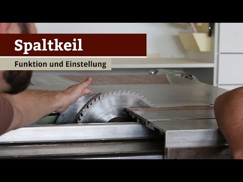 Kreissäge Sicherheitselement Spaltkeil (How to)