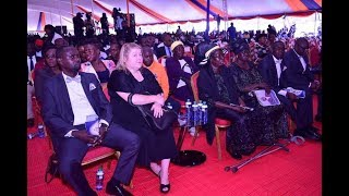 Monica Lavender, the woman who nursed Hon. Ken Okoth throughout her medical journey
