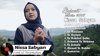 DOWNLOAD NISSA SABYAN Full Album Video Lirik   Lagu Sholawat Terbaru 2018