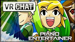 """The Piano Entertainer"" Ep. 20 – A New Adventure Begins! The World Of VRChat"