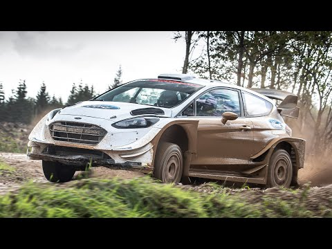 WRC Ford Fiesta Rally Car: High Speed Ride   | Carfection +