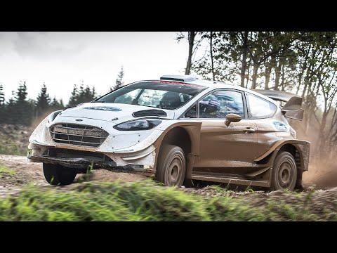 WRC Ford Fiesta Rally Car: High Speed Ride   | Carfection +