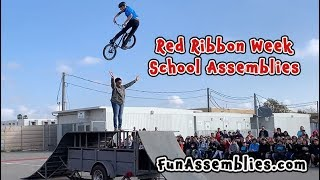 Youtube with BMX Freestylers Dream TeamBullying School Assembly  sharing on Red Ribbon WeekCode