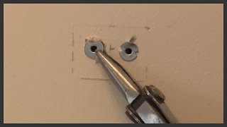 Metal wall anchor removal