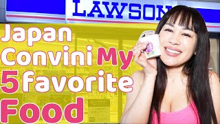 5 things that I love from Lawson! Tokyo, Japan  Convenience store.