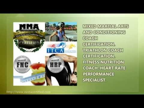 NESTA Nutritionist Certification Course - YouTube