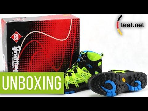 Brütting |Vision High Kids Schuhe (Unboxing) | test.net