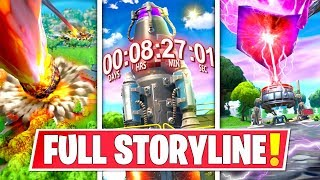 *NEW* FULL SEASON 10 *STORYLINE* IN FORTNITE SO FAR! ROCKET LAUNCH, ISLAND DESTRUCTION AND MORE!: BR