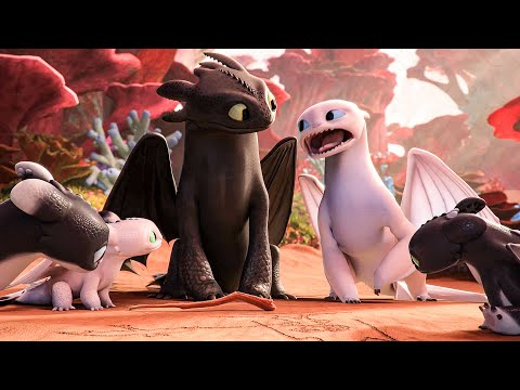 Hiccup's Kids Hate Dragons? Scene - HOW TO TRAIN YOUR DRAGON: HOMECOMING (2019) Movie Clip