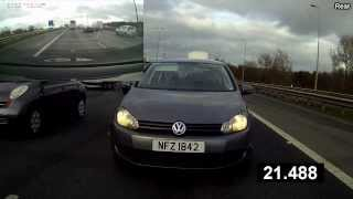 preview picture of video 'VW Golf Tailgating - Belfast'