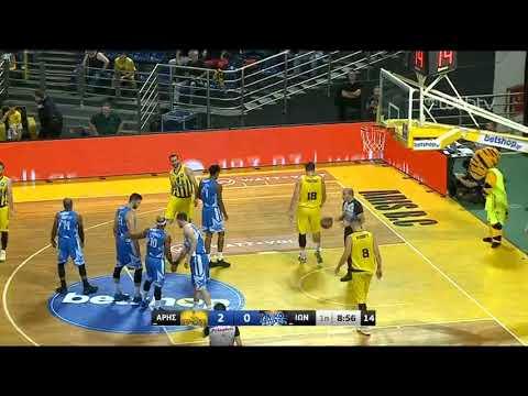 ΑΡΗΣ – ΙΩΝΙΚΟΣ | Basket League | 19/10/2019 | ΕΡΤ
