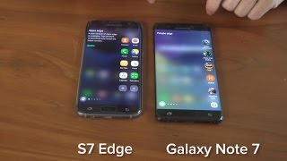 Should I buy the Galaxy Note 7 or S7 Edge?