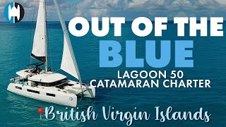 Out Of The Blue - Lagoon 50 Sailing Catamaran For Charter in The British Virgin Islands