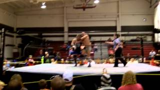 preview picture of video 'UW Presents Mane Event XI Lyons, NY 9/14/2013 Kriptic Keegan Vs. Kendall James'