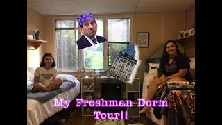 My Freshman Dorm Tour at the University of Scranton!!
