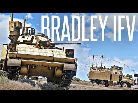 BRADLEY IFV SAVES OUR CONVOY! - ArmA 3 Milsim Operation