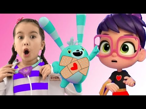 Abby Hatcher and Doc Mcstuffins saves fuzzlys and Batterbean's cafe   Abby Hather Full Episodes