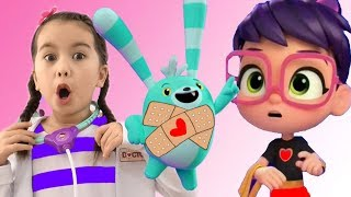 Abby Hatcher and Doc Mcstuffins saves fuzzlys and Batterbean's cafe | Abby Hather Full Episodes