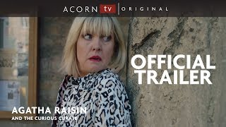 Acorn TV Original | Agatha Raisin and the Curious Curate | Premieres January 28