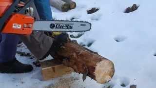 "Бензопила Oleo-Mac 952 18"" - видео №1"