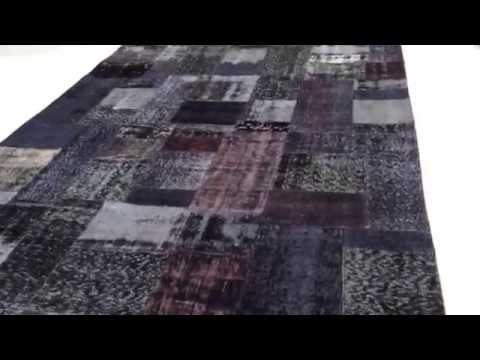 Patchwork Teppich 4186