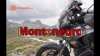 Ep 43 - Montenegro - Around Europe on a Motorcycle