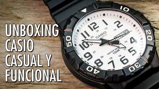 8b4fe484d73e Unboxing Casio MRW-210H Reloj Analógico de Cuarzo en Español