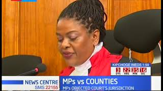 DIVISION OF REVENUE -  Supreme court rules on MPs vs Counties revenue stalemate