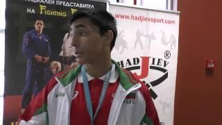 DENISLAV IVANOV, CADET EUROPEAN JUDO CHAMPION 2015