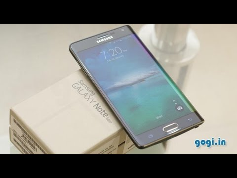 Samsung Galaxy Note Edge full review