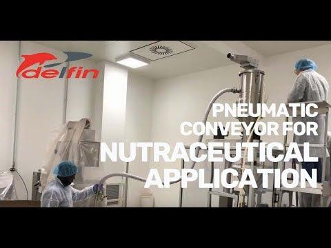Delfin Pro280e Pneumatic Conveyor System Transporting Powders & Grains Short Distance