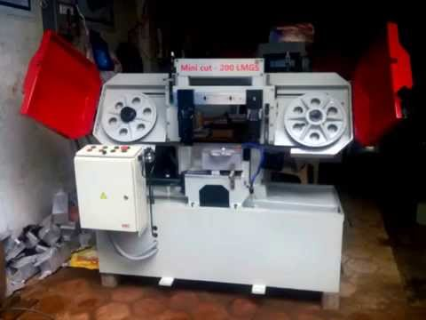 Metal Cutting Band Saw Machine- 200 LMGS