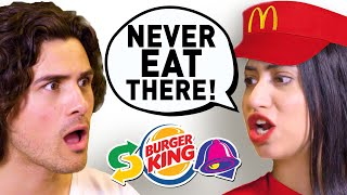 I spent a day with EX-FAST FOOD EMPLOYEES (Secrets Exposed)