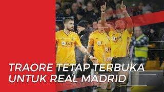 Sempat Berlatih di Akademi Barcelona, Adama Traore Tetap Terbuka untuk Gabung Real Madrid