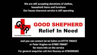 Important Notice From Good Shepherd Relief In Need