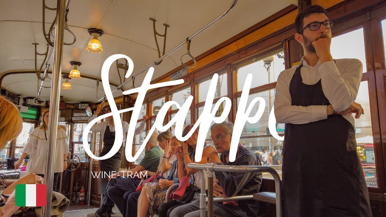 Stappo Wine Tram: degustazioni di vino in giro per Milano